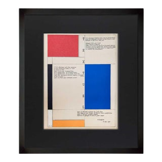 Piet Mondrian Limited Edition Lithograph For Sale