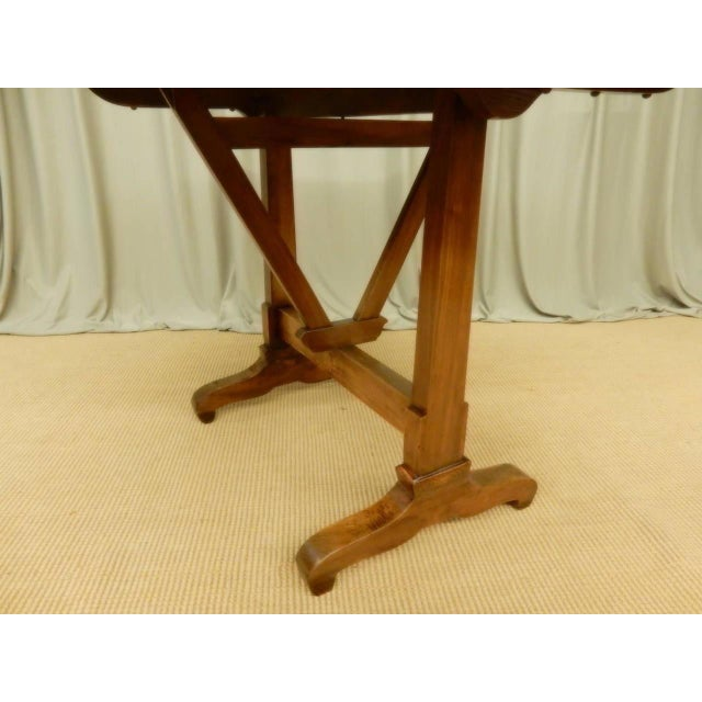 Early 19th Century Early 19th Century French Provincial Wine Table For Sale - Image 5 of 9