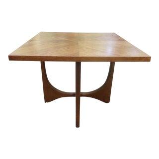 Broyhill Brasilia Sculptural Walnut Side Table