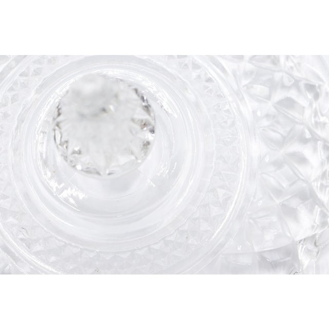 Wexford Crystal Ice Buckets by Anchor Hocking - a Pair For Sale In Boston - Image 6 of 8
