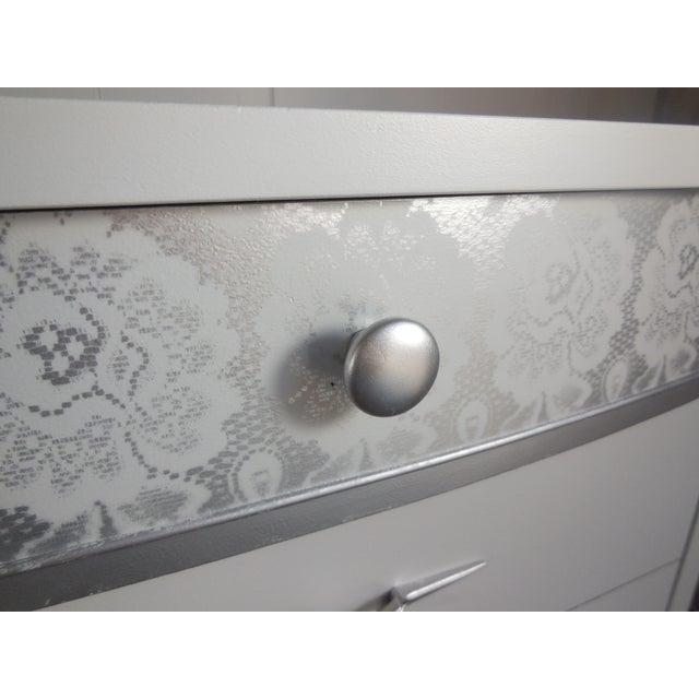 White Mid-Century Modern Dresser - Image 3 of 8