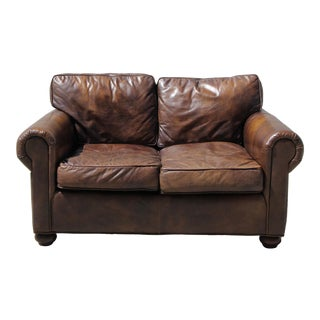 Restoration Hardware Lancaster Loveseat For Sale