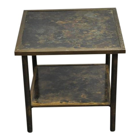Philip and Kelvin LaVerne Bronze Side Table - Image 1 of 6
