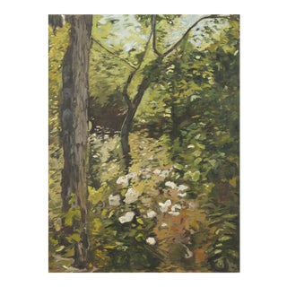 """Slater Sousley, """"The Woods Beckon"""" Painting For Sale"""