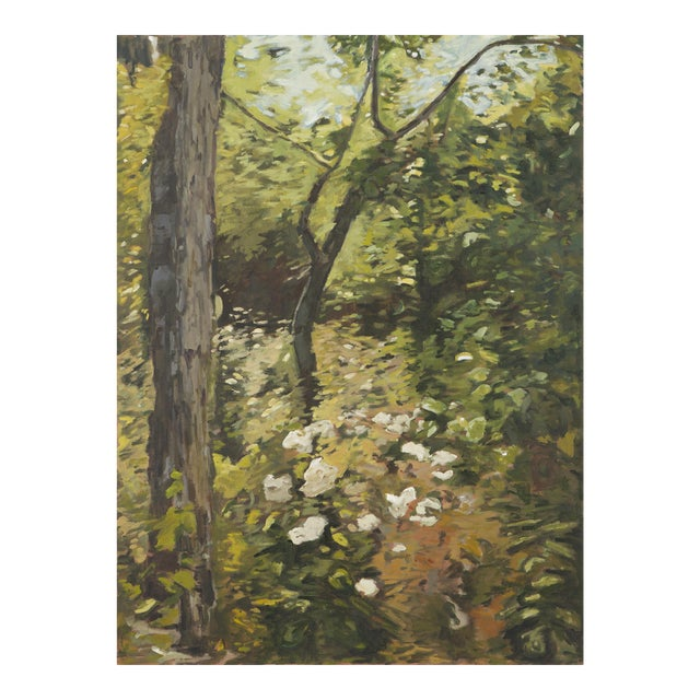 "Slater Sousley, ""The Woods Beckon"" Painting For Sale"
