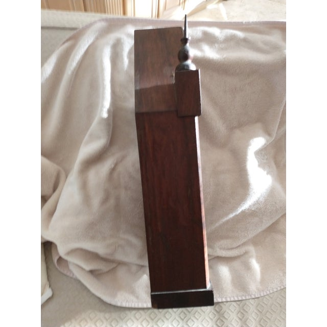 Mid 19th Century Mid 19th Century Steeple Clock Case For Sale - Image 5 of 7