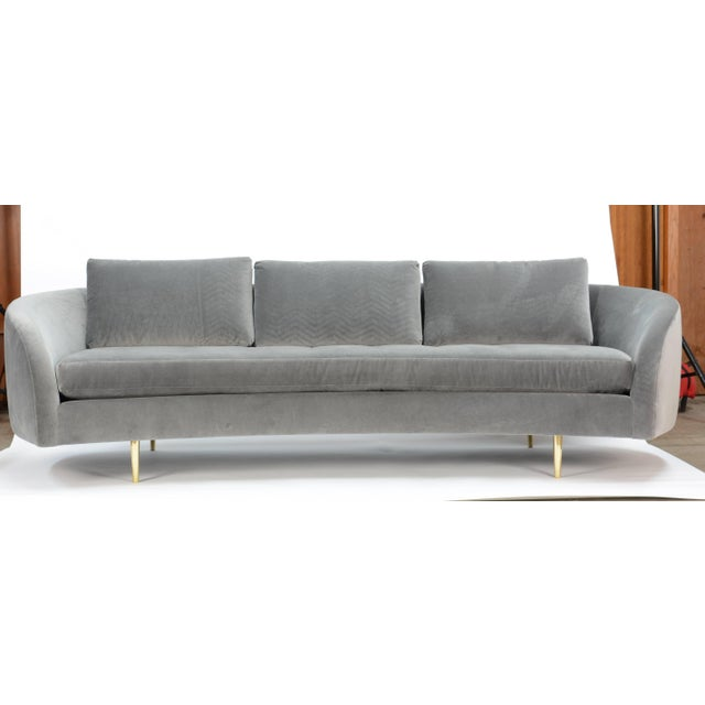 """""""Cloud's Rest"""" says it all! A beautiful 20th Century Interiors original reproduction sofa from a classic Mid-Century..."""