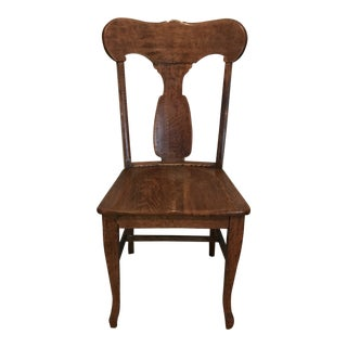 Antique Oak Side Chair