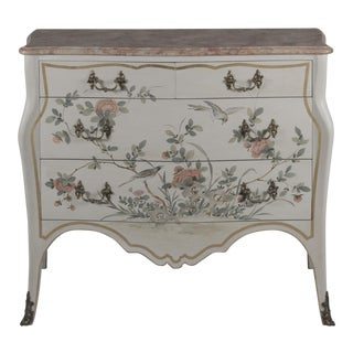 Vintage Rococo Style Commode For Sale