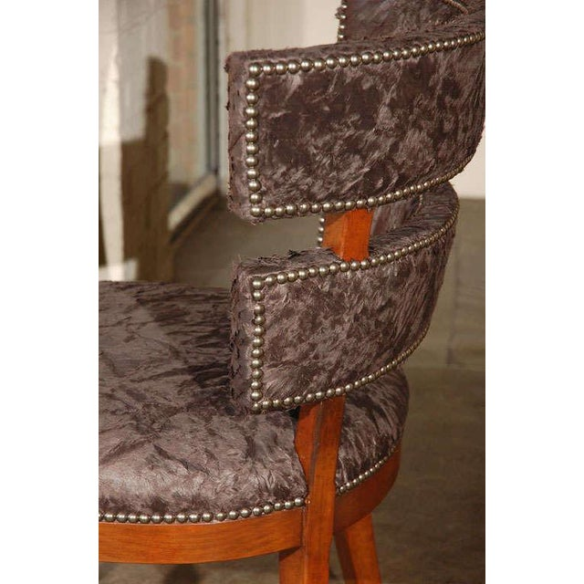 Not Yet Made - Made To Order Paul Marra Klismos Style Chair For Sale - Image 5 of 8