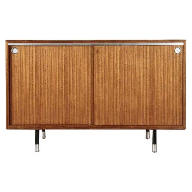 1960s Mid-Century Modern George Nelson for Herman Miller Teak Sideboard/Cabinet For Sale