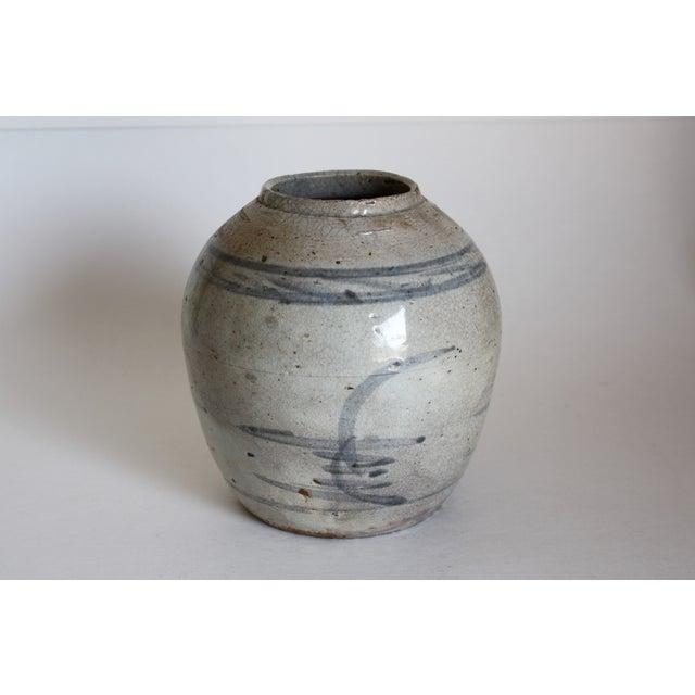 18th C. Chinese Stoneware Ginger Jar - Image 2 of 6