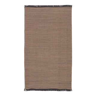 Jaipur Living Savvy Indoor Outdoor Solid Tan Black Area Rug 5'X8' For Sale