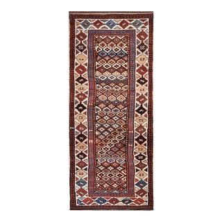 """Antique Nw Persian Rug 3'4"""" X 8'8"""" For Sale"""