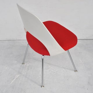 Set of Four Contemporary Knoll Eero Saarinen 72c-Piece Dining Side Chairs Preview