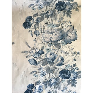 Victorian Schumacher Broughton House Fabric - 2 1/2 Yards For Sale