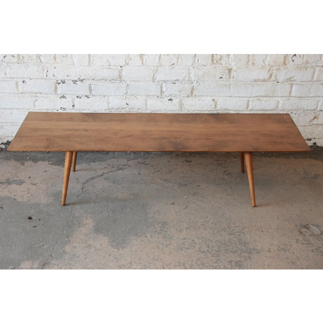 Contemporary Paul McCobb Planner Group Birch Coffee Table For Sale - Image 3 of 11