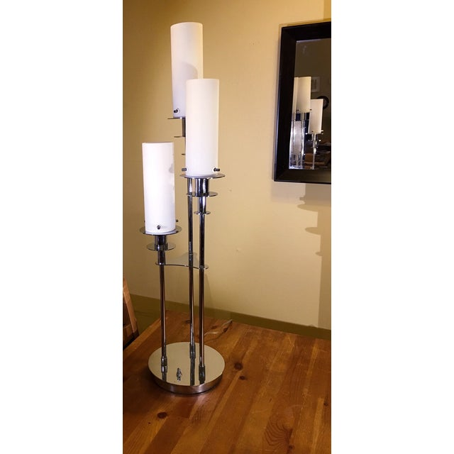 Lite Source Credence 3-Light Chrome Table Lamp - Image 3 of 6