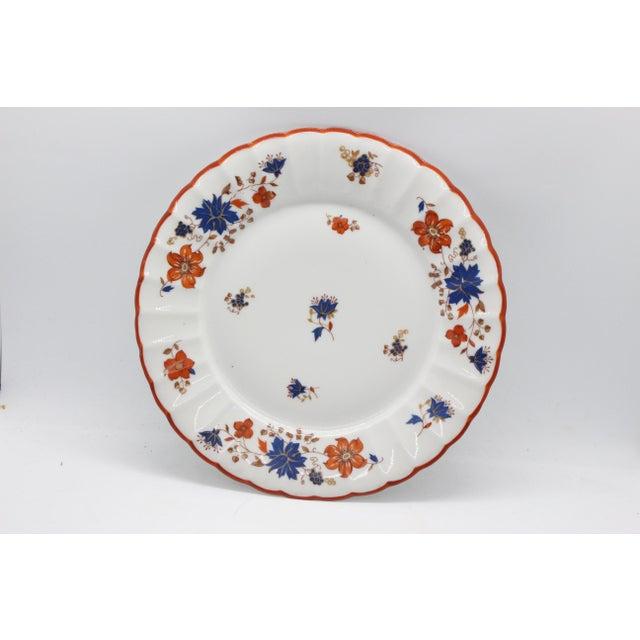 1920s Antique German Porcelain Floral Dessert or Salad Plates - Set of 4 For Sale - Image 5 of 9