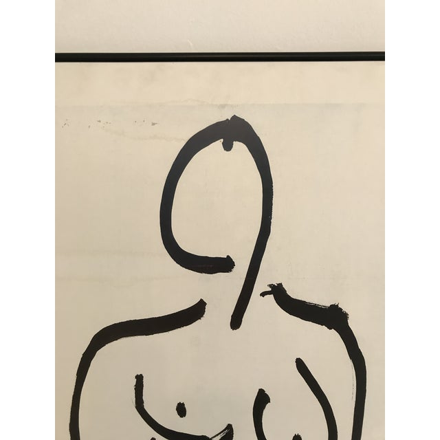 White 1985 Framed Matisse Louisiana Exhibition Poster For Sale - Image 8 of 10