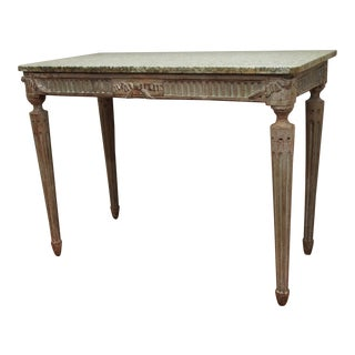 Louis XVI Console Table For Sale