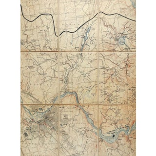 Schenectady, New York C. 1900 Us Geological Survey Folding Map For Sale