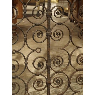 A Pair of Scrolled Forged Iron Gates From France, 1800s Preview