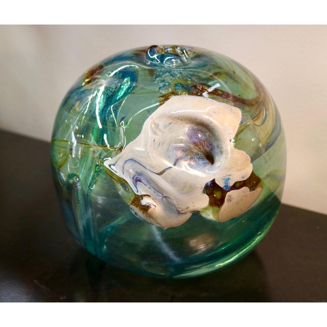 Signed 1970 Art Glass by Peter Bramhall - Image 2 of 7