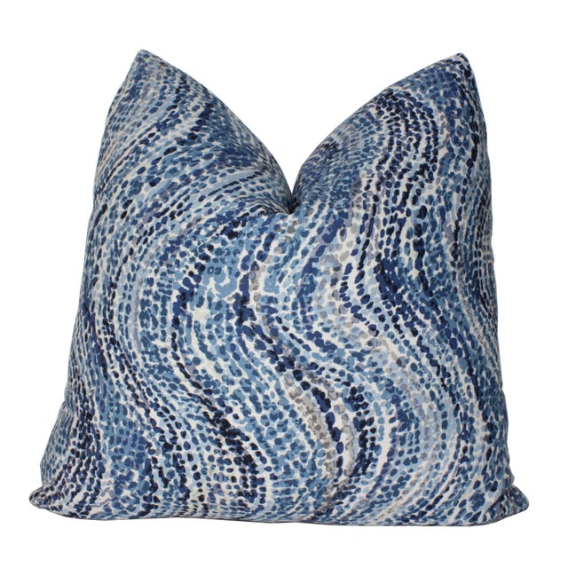 Contemporary Contemporary Duralee Pillow Cover For Sale - Image 3 of 3