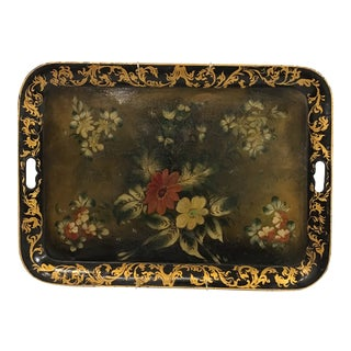 English Tole Tray For Sale