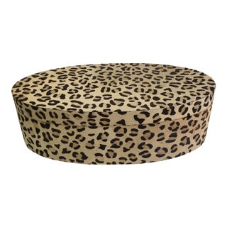 Contemporary Animal Print Box For Sale