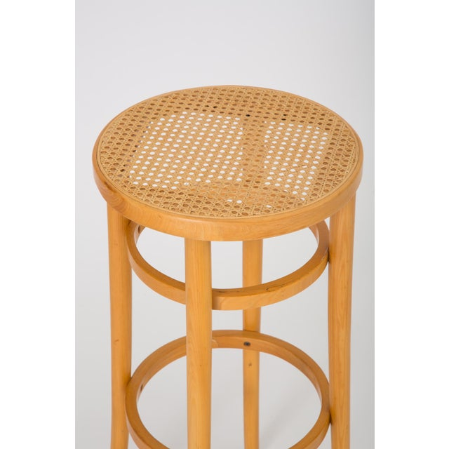 Thonet Set of Four Thonet Bentwood Bar Stools For Sale - Image 4 of 6