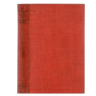 "1953 ""Writer's Diary: Extracts of Virginia Woolf"" Collectible Book For Sale"