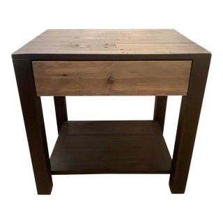 Four Hands Modern Rustic Nightstand For Sale