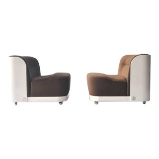 "Pair of ""Trinom"" Lounge Chairs by Peter Maly For Sale"