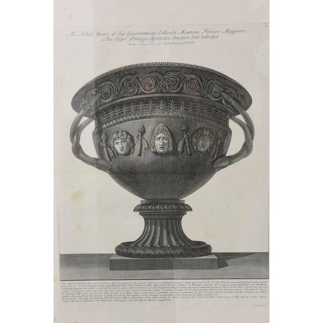 Neoclassical Set of Two Italian Copper-Plate Engravings by Giovanni Battista Piranesi For Sale - Image 3 of 10