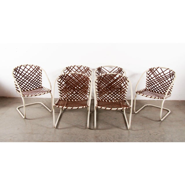 Mid-Century Modern Mid Century Modern Brown Jordan 6pc Patio Dining Chairs - Set of 6 For Sale - Image 3 of 12