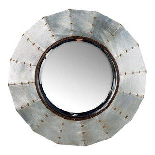 Statements by J Industrial Studded Ella Mirror For Sale
