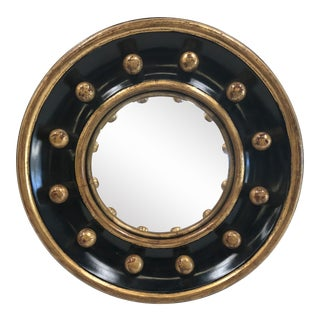 Giltwood Bullseye Convex Mirror