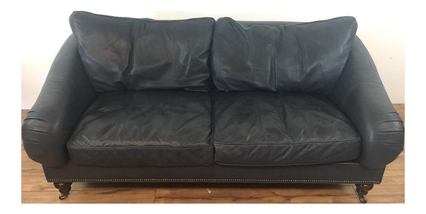 Drexel Heritage Leather Sofa