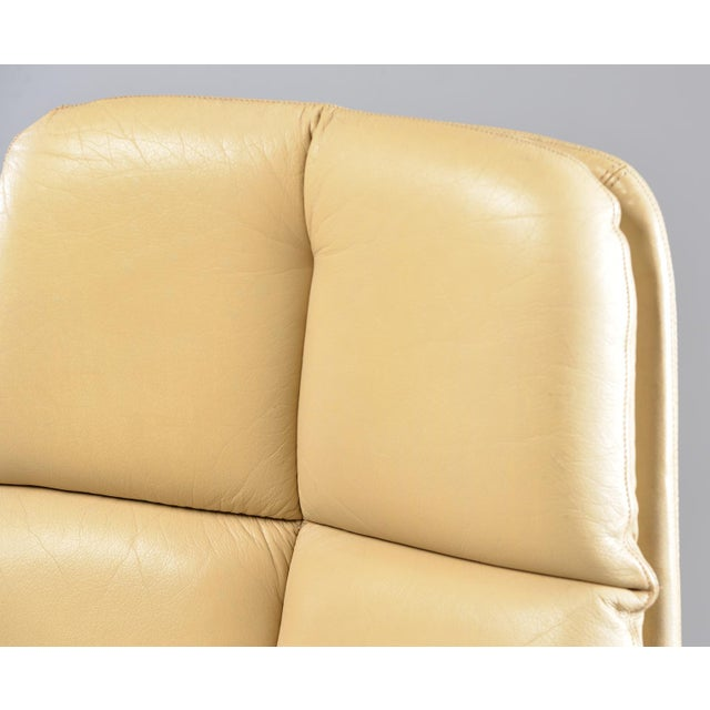 Tim Bates for Eleganza Collection at Pieff Chrome and Leather Armchairs - a Pair For Sale - Image 12 of 13