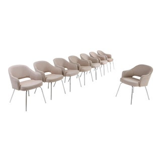 Saarinen Dining Chairs for Knoll For Sale
