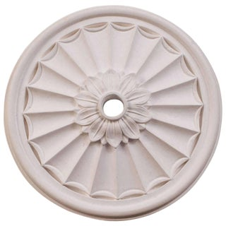"""Floral Canopy"" Plaster Ceiling Medallions For Sale"