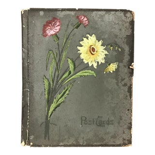 1905 Edwardian Post Card Scrapbook