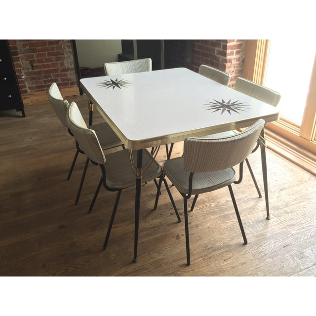 Kitchen Table And Chairs Ireland: 1960s Vintage Formica Dining Set