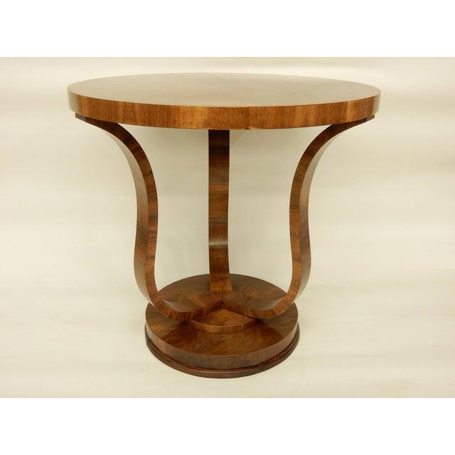 Carefully restored Art Deco table.