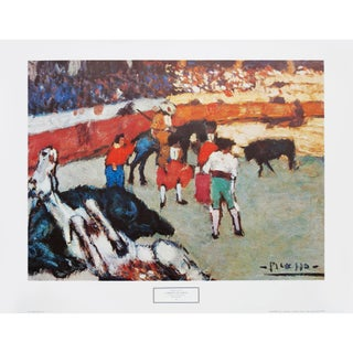 "Pre-1970 Spanish ""Corrida De Toros"" Poster For Sale"