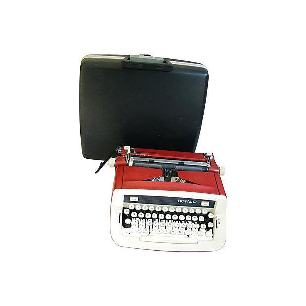 Vintage 1970s Royal Custom II Typewriter & Case - Image 2 of 7