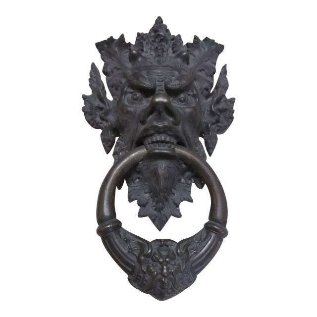 Bronze Mythical Creature Door Knocker - Image 1 of 6