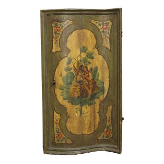 Early 20th Century Early 20th Century Hand Painted Panel For Sale